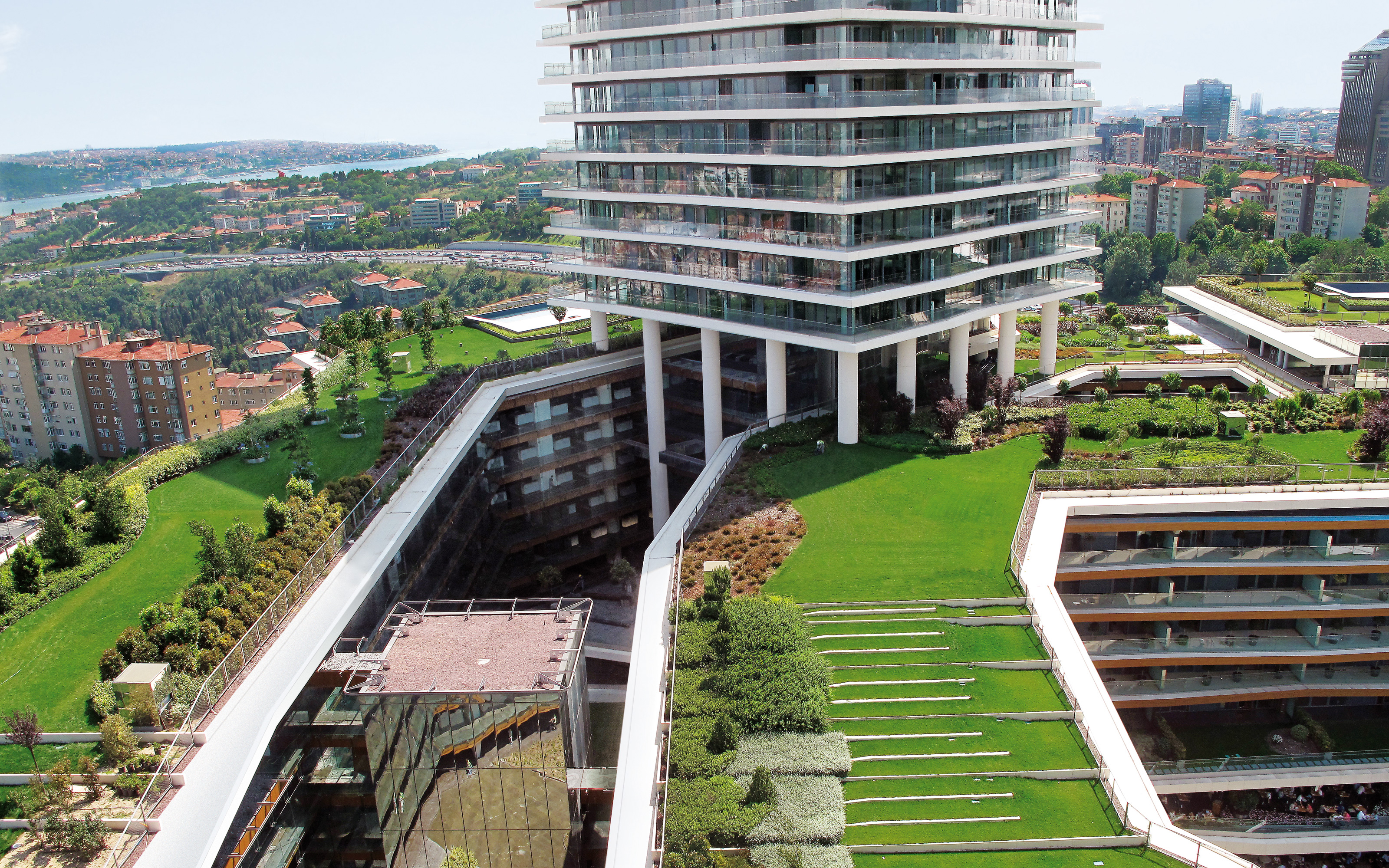 Zorlu Center Istanbul Zinco Green Roof Systems