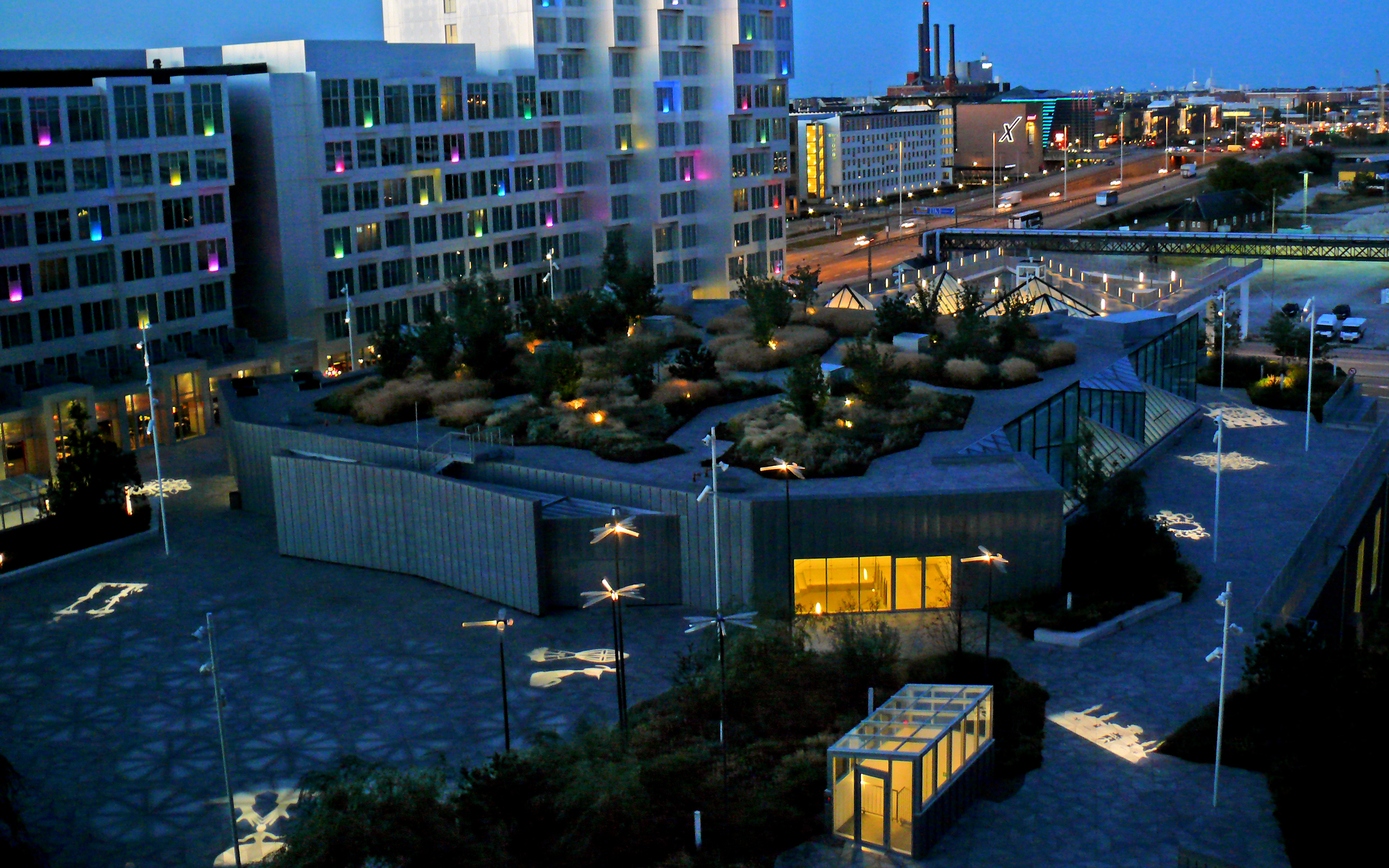 Tivoli Congress Centre Copenhagen Zinco Green Roof Systems