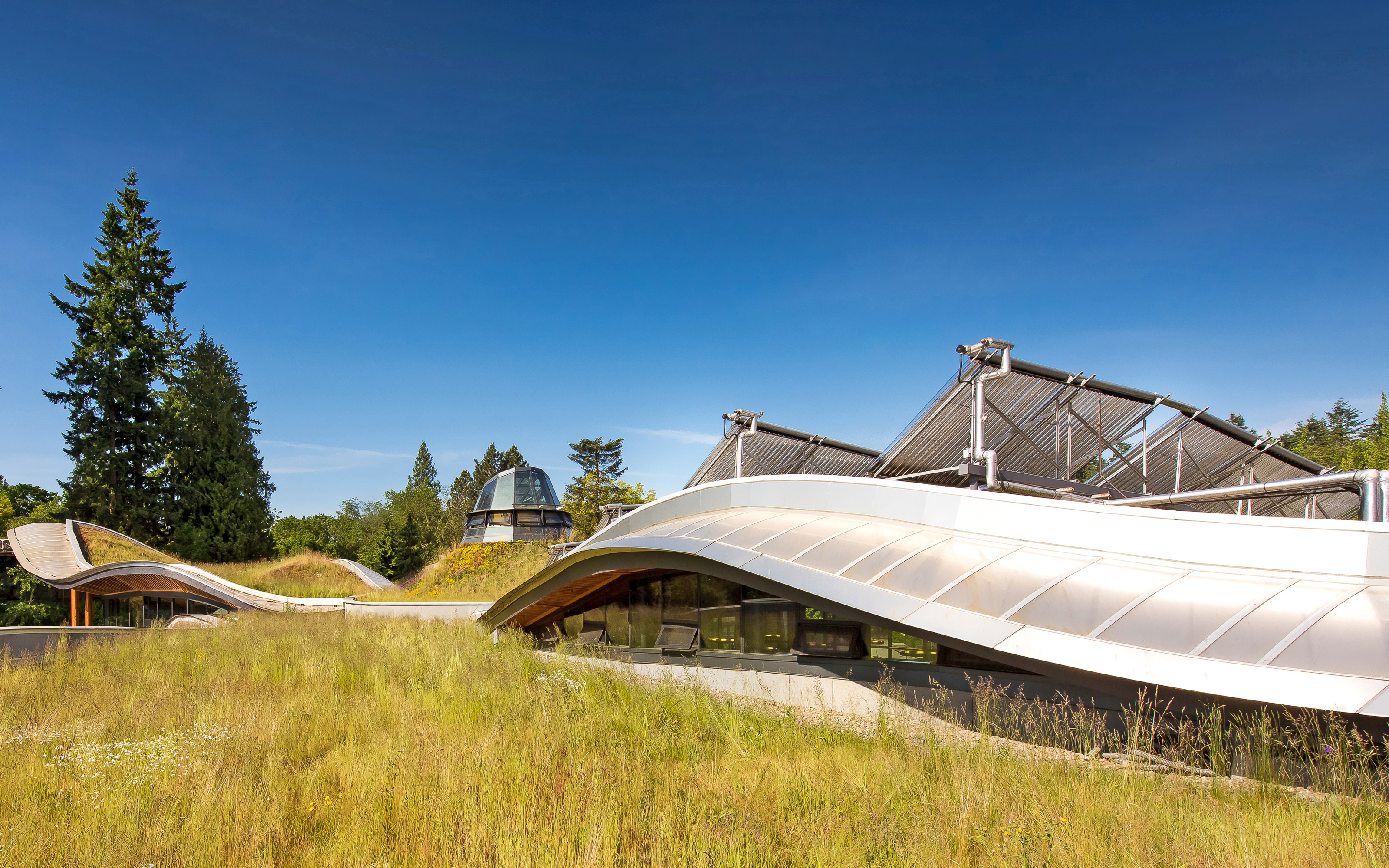 Van Dusen Botanical Garden Vancouver Zinco Green Roof