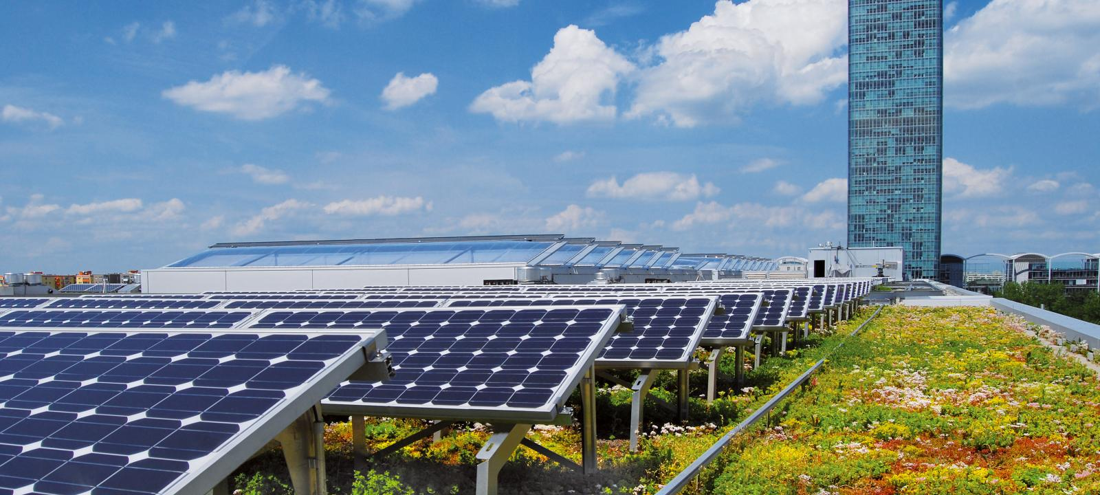 Green Roofs And Solar Energy Zinco Green Roof Systems