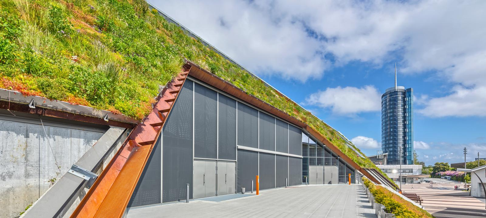 Steep Pitched Green Roofs Up To 35 176 Zinco Green Roof Systems