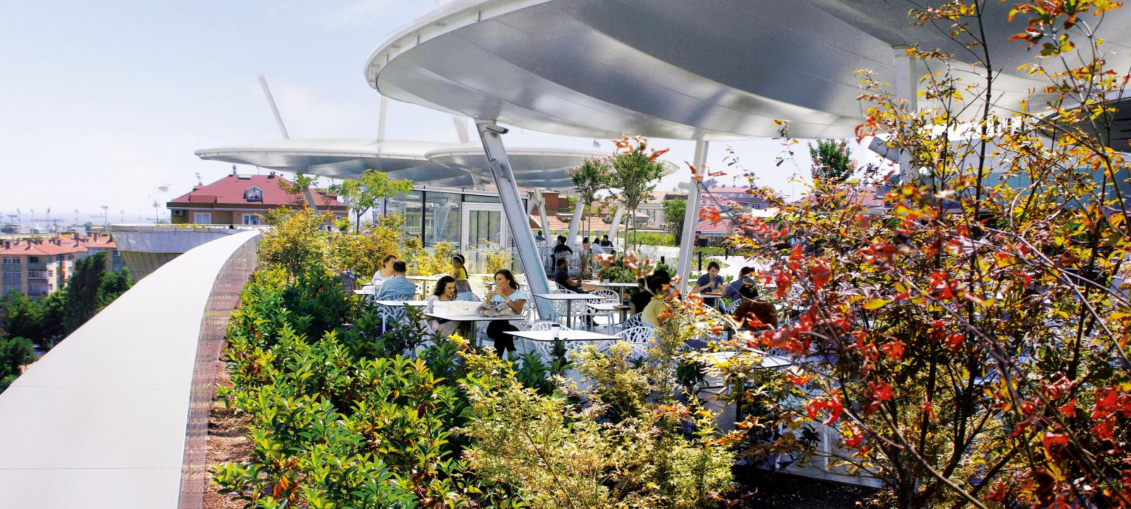 Roof Garden | ZinCo Green Roof Systems