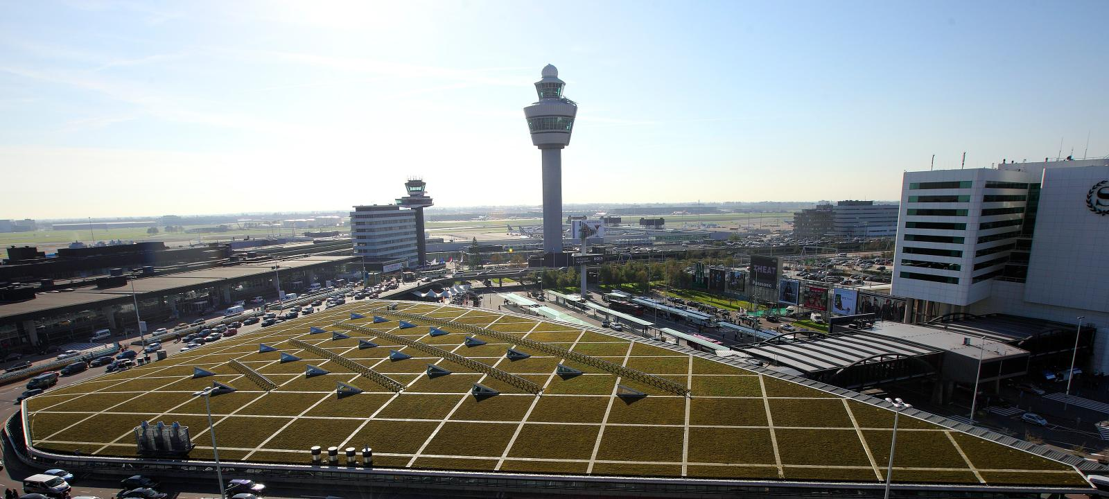 Airport Schiphol Amsterdam Zinco Green Roof Systems