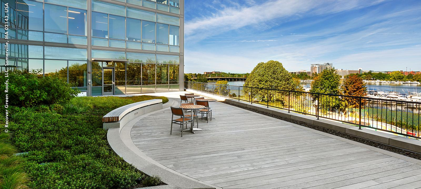 Office Building Somerville Ma Zinco Green Roof Systems