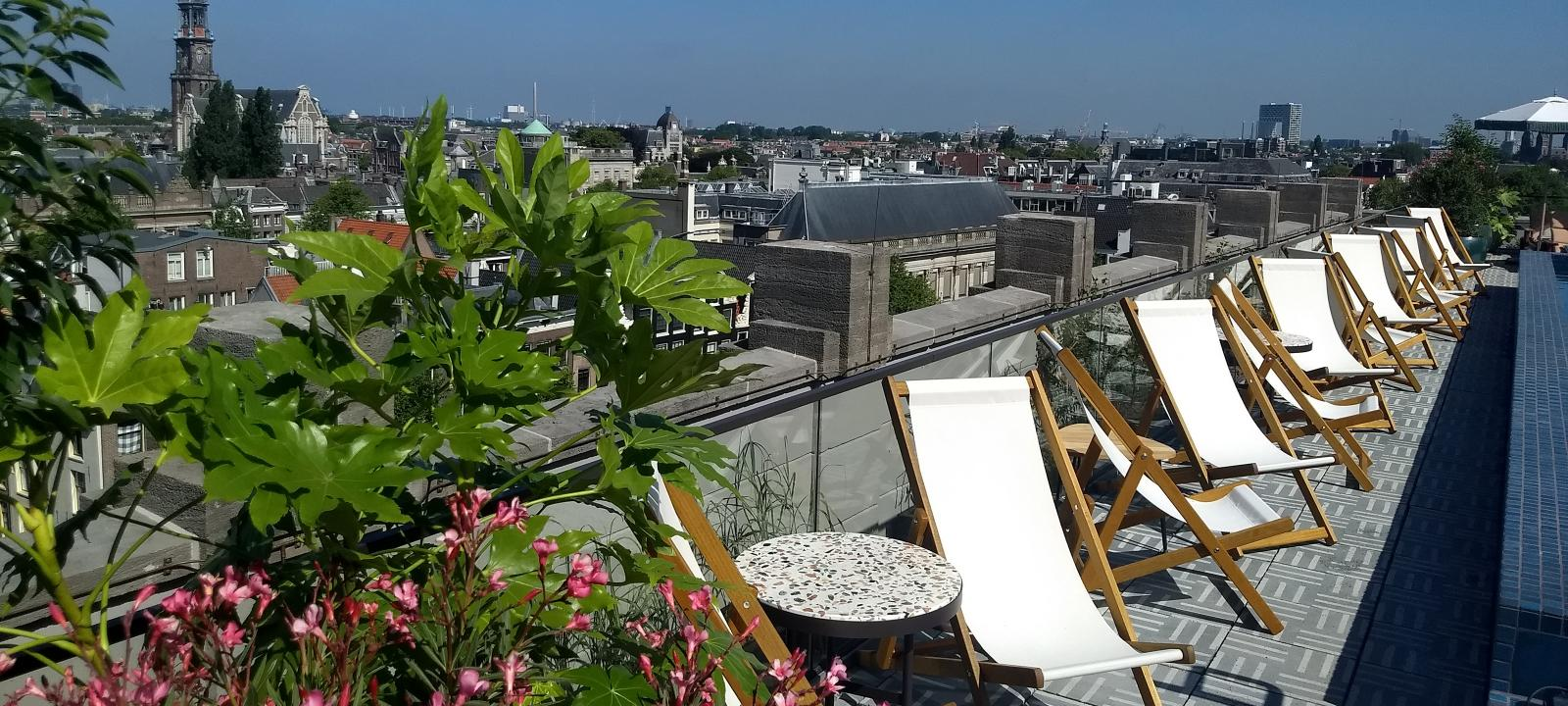 Soho House, Amsterdam | ZinCo Green Roof Systems