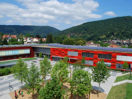 School complex with photovoltaics