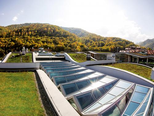 ... Extensive Green Roofs With Glass Roof Areas ...