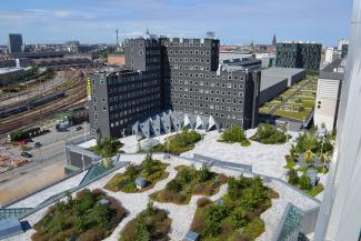The Garden Area Of Tivoli Congress Center Extends Existing Pedestrian Pathway To A Total Overall Length Approx 440 M